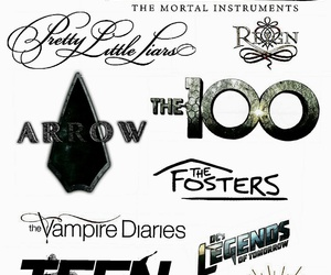 arrow, pretty little liars, and teen wolf image