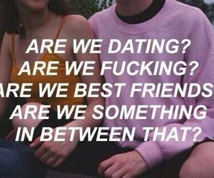 just friends, bestfriends, and date me image