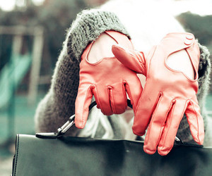 girl and gloves image