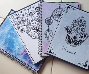 art, diy, and notebook image