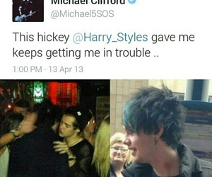 5sos, 1d, and michael clifford image