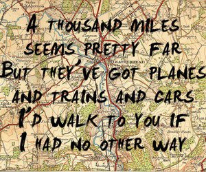 quote, map, and Lyrics image