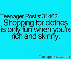 teenager post, shopping, and rich image