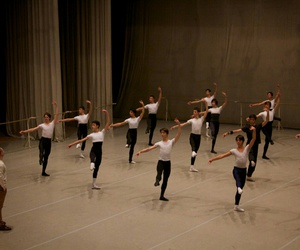 ballet, boys, and dance image