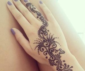 henna, tattoo, and beautiful image