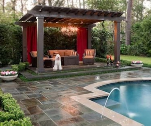 Pool Pergola Ideas And Designs Image