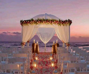 wedding and beach image
