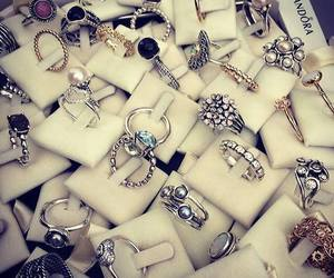 rings, pandora, and ring image