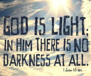 god and light image