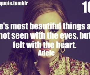 Adele, quote, and adele quote image