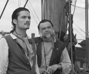 orlando bloom, pirates of the caribbean, and will turner image