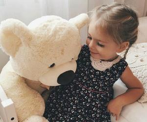 cute, baby, and bear image
