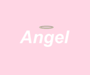 angel, overlay, and pink image