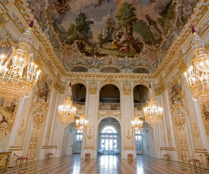 palace, architecture, and art image
