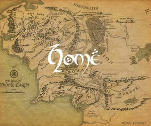 lord of the rings, tolkien, and LOTR image