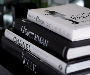 book, chanel, and white image