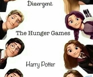 boy, the hunger games, and the fault in our stars image