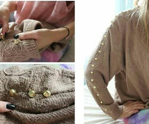 diy, ropa, and sweater image