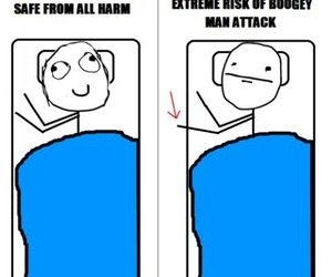funny, true, and bed image