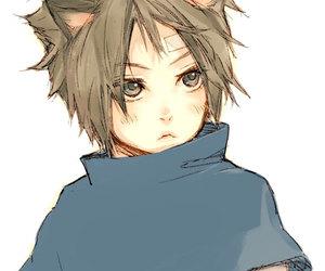 naruto, sasuke, and cute image