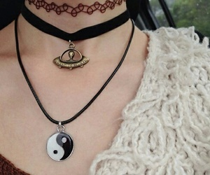 grunge, necklace, and choker image