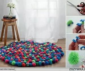 diy, carpet, and colors image