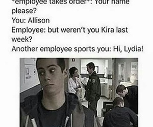 teen wolf, funny, and starbucks image