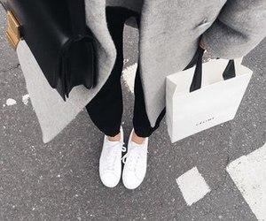 bag, fashion, and grey image