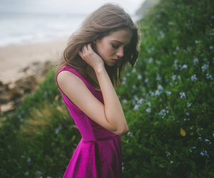 nature, dress, and girl image