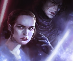 kylo ren and rey image