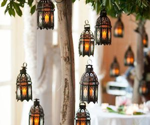 lanterns, light, and candles image