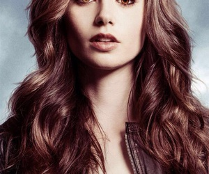 lily collins, clary fray, and the mortal instruments image