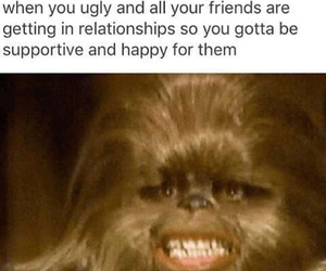 funny, ugly, and Relationship image