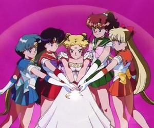 sailor moon, anime, and sailor mercury image