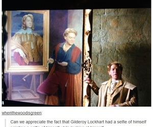harry potter, funny, and gilderoy lockhart image