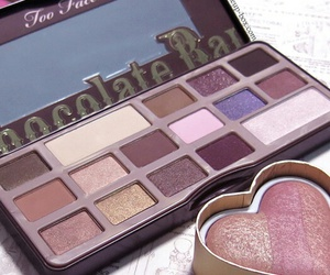 make up, maquillage, and palette image