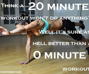 workout, fit, and motivation image