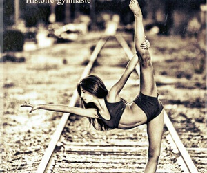 fille, girl, and gymnastic image