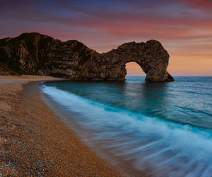 beach, mar, and landscape image
