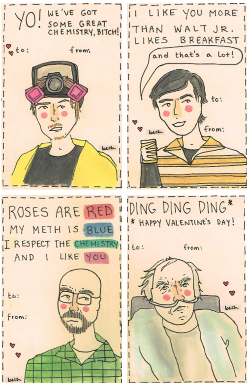 Breaking Bad Valentines Cards Pleated Jeans Com