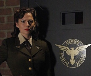 hayley atwell and peggy carter image