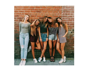 best friends, girls, and tumblr image