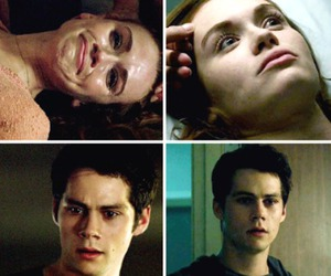 teen wolf, dylan o' brien, and lydia martin image