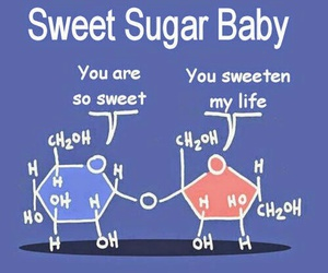 chemistry, sugar, and sweet image