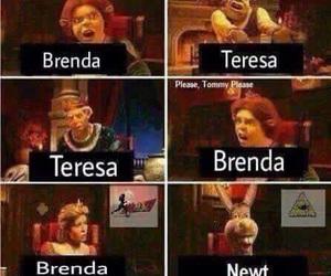 newt, brenda, and teresa image