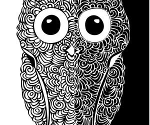 blackwhite, design, and illustration image