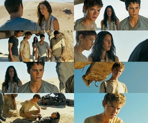 newt, teresa, and thomas image