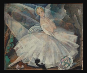 dancer, danish, and Gerda Wegener image