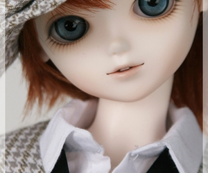 ball-jointed doll, bjd, and blue fairy image