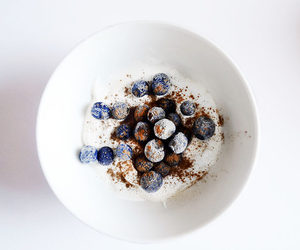food, blueberry, and healthy image
